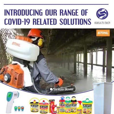 Introducing a new range of Covid - 19 related solutions image