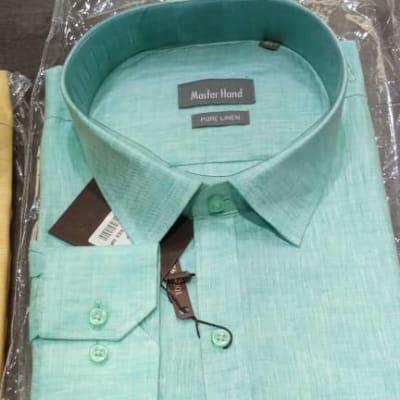 New stock on men's linen shirts  image
