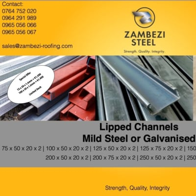 Lipped Channel special offer image