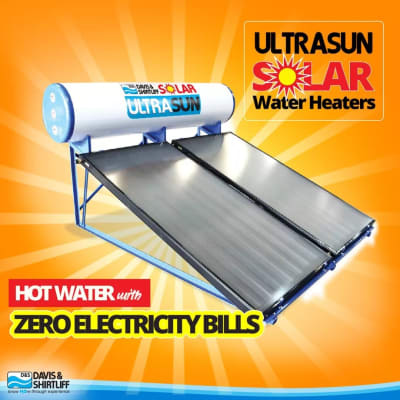 Hot water with Zero electricty bills image