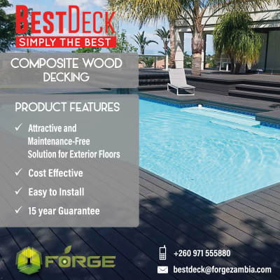 Call Forge Ltd for your composite wood wall decking image