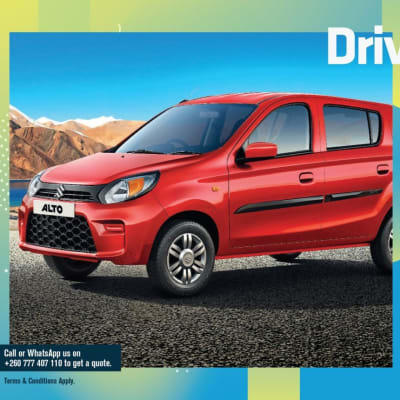 Drive the 800cc Suzuki Alto with pride. No fuel stress! image