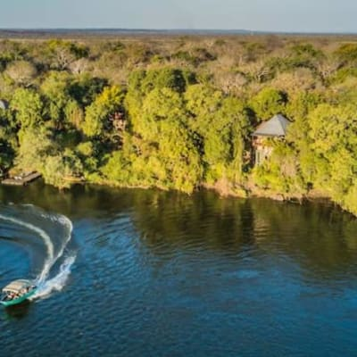 Highly desirable land for sale on the left bank of the Zambezi River image