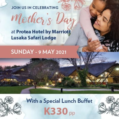 Mother's day special at Protea Hotel by Lusaka Safari Lodge image