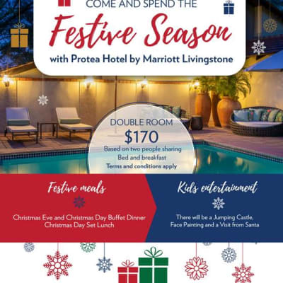 Protea Hotel by Marriott Livingstone - Festive Season image