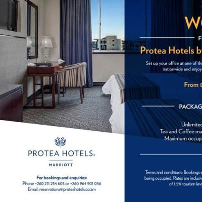 Work from Protea Hotels by Marriott Zambia image