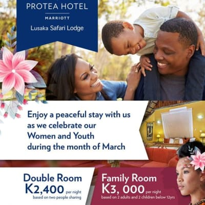 Celebrate Women and Youth day at Protea Hotel Lusaka Safari Lodge image