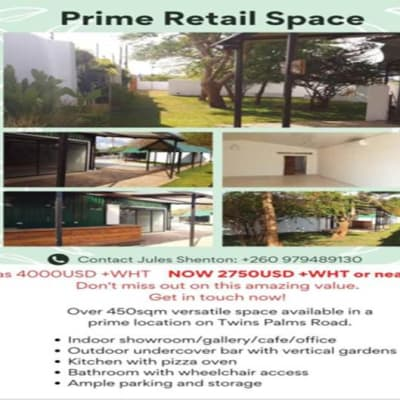 Prime retail space for rent image