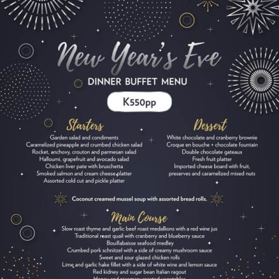 New Year's Eve special buffet at Lusaka Tower image