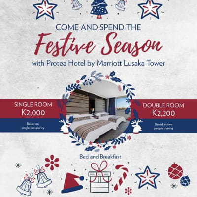 Come spend the festive season with Protea Hotel by Marriott Lusaka Tower image