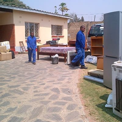 Transported household goods - Livingstone to Choma image