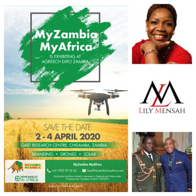 Branding, drones and solar at Agritech Expo image
