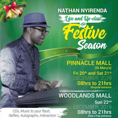 Nathan Nyirenda to perform at Woodlands Shopping Mall image