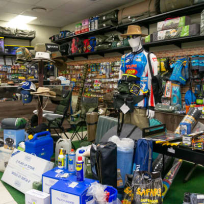 Fishing products and outdoor accessories image