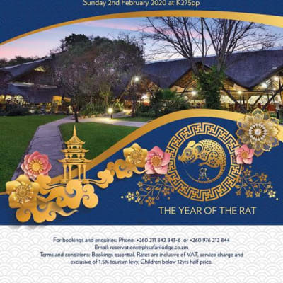Chinese New Year - Protea Hotel by Marriott Lusaka Safari Lodge image