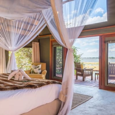 Deluxe suites at one with the surrounding private wilderness areas image