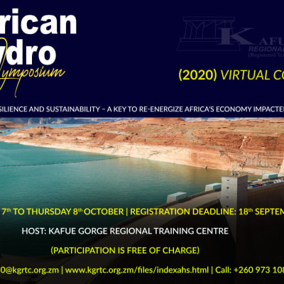 The 30th African Hydro Symposium (2020) virtual conference  image