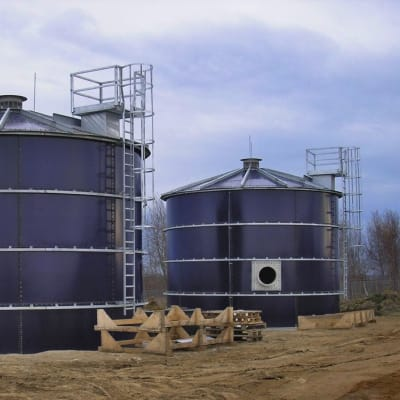 Tanks and reservoirs are built to withstand the elements, stand the test of time image