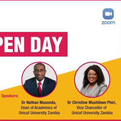 Virtual Open Day Zambia image