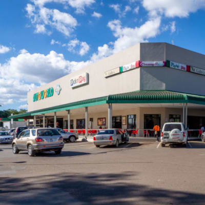 Family-friendly shopping complex with international and local stores image