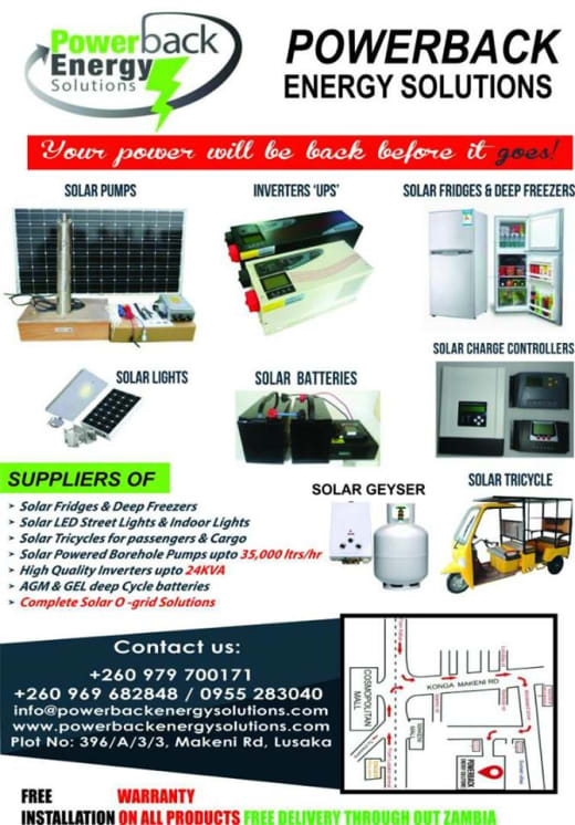Do not let load shedding inconvenience you at home or slow down your business