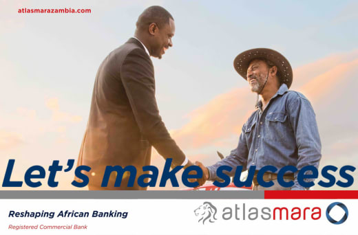 "Atlas Mara's ""Let's make success"" campaign"