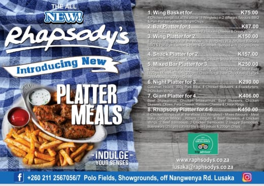 Introducing platter meals