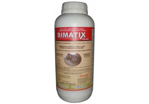 Bimatix for control of ticks on cattle, sheep and goats
