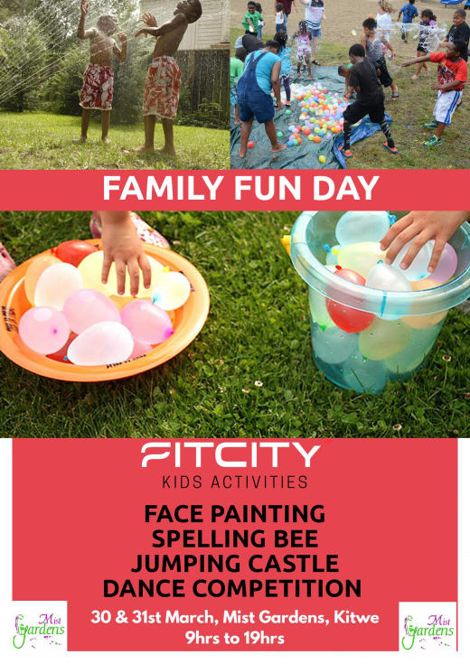 The Mist Garden and FitCity presents Family Fun Day