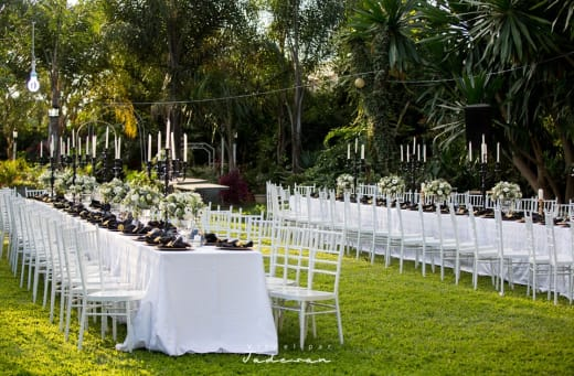 Are you thinking of having a garden wedding?