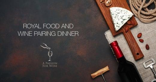 Passion and Vineyards Wine Pairing Dinner