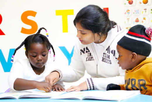 Successful reading programme merges theory with fun