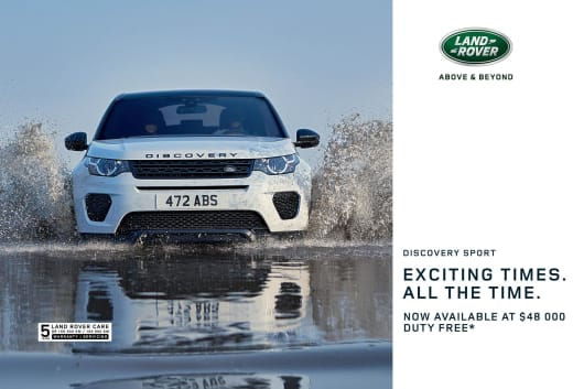 Usher in a wave of new adventures with the Discovery Sport
