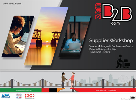 Suppliers workshop - Event by Private Enterprise Programme Zambia (PEPZ)