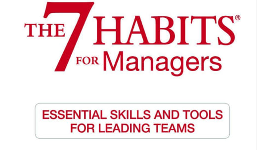 The 7 Habits for Managers - 2 Day Workshop