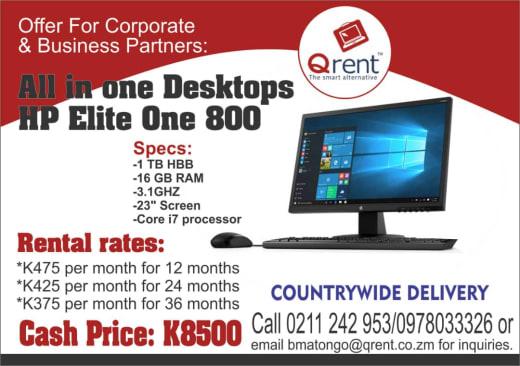 All in one Desktops HP Elite One 800
