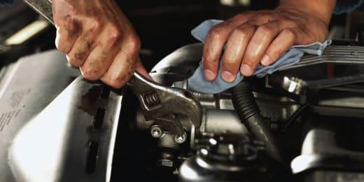 Employees undergo training in Auto Mechanics and Customer Service