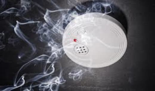 Installs and services smoke detection systems