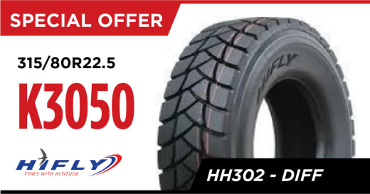 HH302 (DIFF) - 315/80R 22.5 at K3050