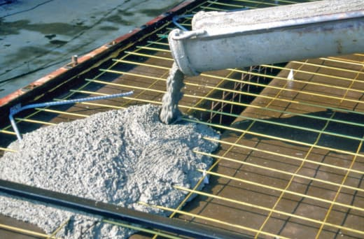 Concrete for various construction needs