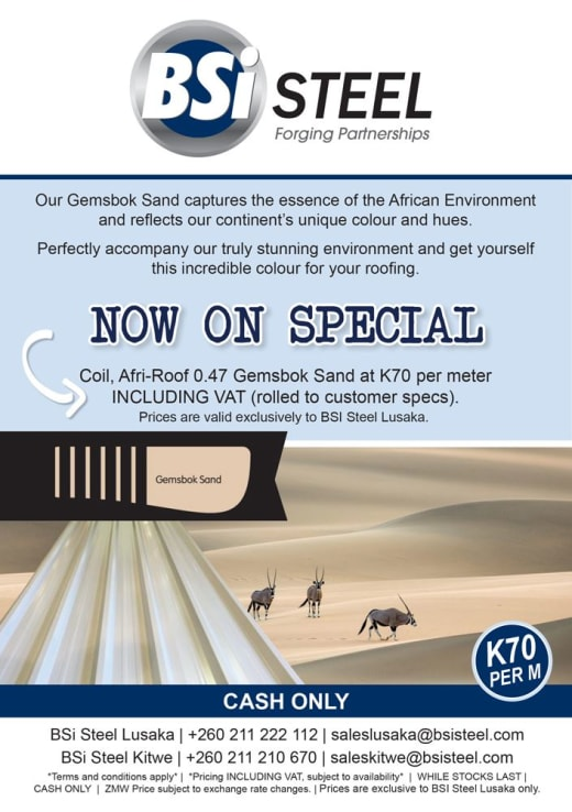Gemsbok Sand IBR Roofing Sheets now on sale!