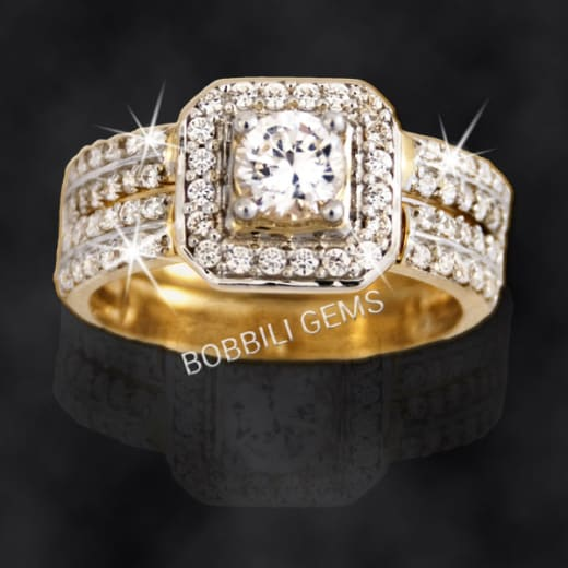 Get up to 15% off engagement and wedding rings