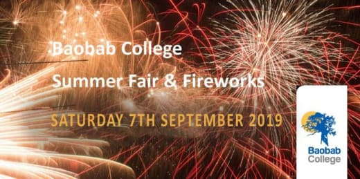 Baobab Summer Fair & Fireworks 2019