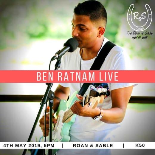 Ben Ratnam live at Bubbles! Sunshine! Music! Food! Friends! party