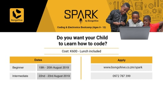 Coding and electronics bootcamp (ages 9 - 12)