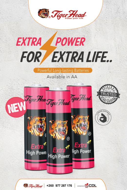 Extra Power Tigerhead batteries
