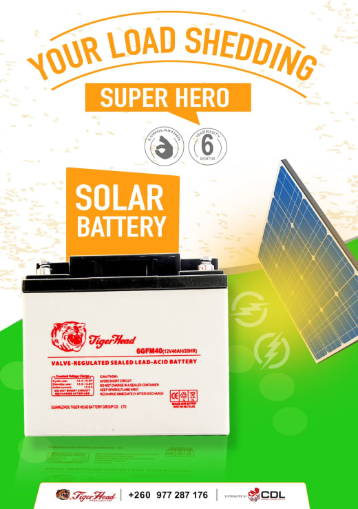 Always stay powered with TigerHead Deep Cycle Solar batteries
