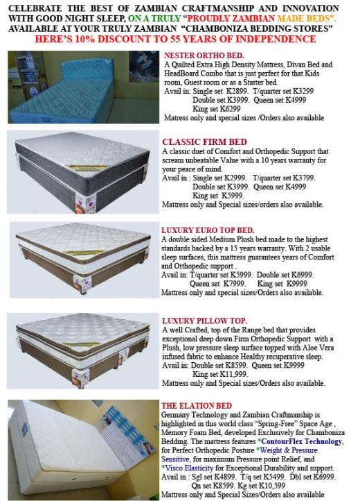 10% off beds