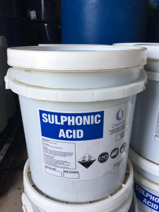20Kg Sulphonic Acid special offer