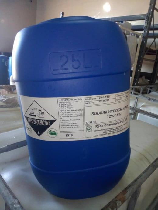 Sodium Hypochlorite (25L) special offer